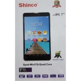 BRAND NEW Shinco Spad - Mini7Q - Quad Core Tablet Multimedia Player 3G