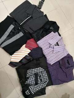 Bundle set 10pcs long sleeve jacket vest