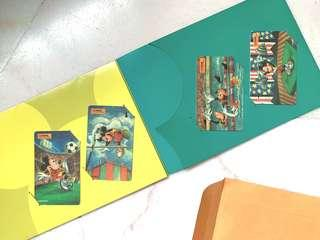 Mickey Mouse Phone Cards