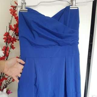 Electric blue jumpsuit  sz8