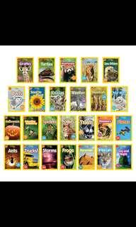 🚚 National Geographic Kids Series Level 1