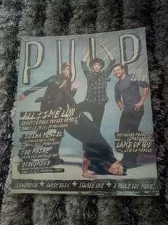 PULP ALL TIME LOW MAGAZINE