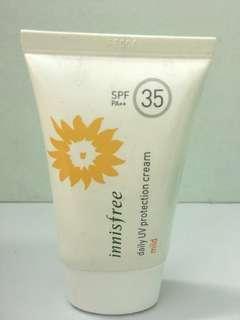 Innisfree sun cream