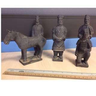 $75- Terracotta Army (5 Pcs Set)