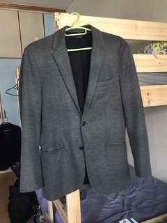 S-M size grey blazer
