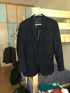 S-M tailored blue nazy blazer