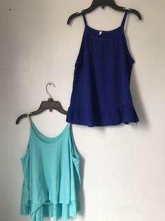 Two Tank Tops for Php 50