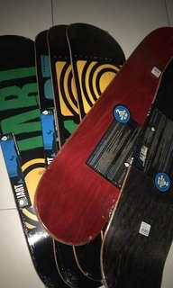 Authentic Jart Skateboard Decks