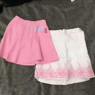 Authentic Barbie Skirts Size 2/ 2T