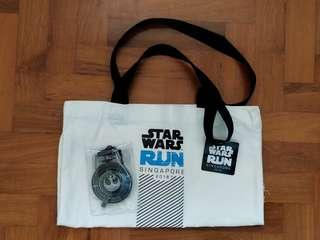 Starwars 2018 medal and tote