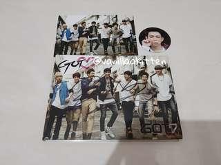 SIGNED Got7 - 2nd Mini Album GOT LOVE/GOT ♡ Signed BamBam