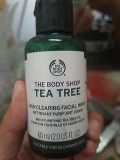 The body shop Tea Trea Face Wash