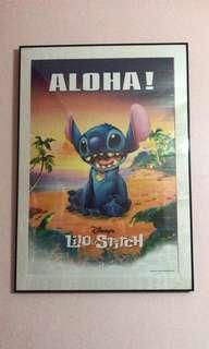 Disney Lilo & Stitch Aloha Poster