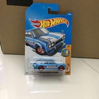 Hotwheels 71' Datsun BlueBird 510 Wagon