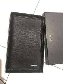 authentic 2nd Hugo Boss Signature D Zip Wallet Black