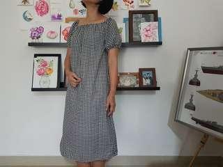 Zara inspired gingham dress