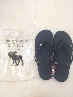 BNWT Abercrombie and Fitch Navy Blue Slippers