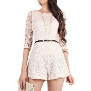 [BN] Doublewoot Lace Romper