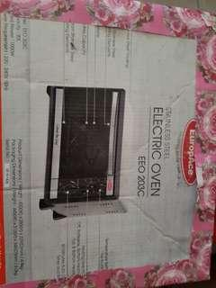 BNIB Sealed EuropAce oven
