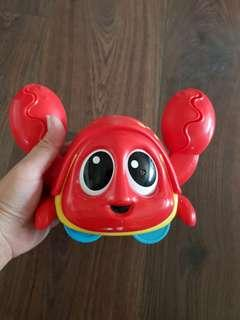 Authentic Little Tikes Crab Toy