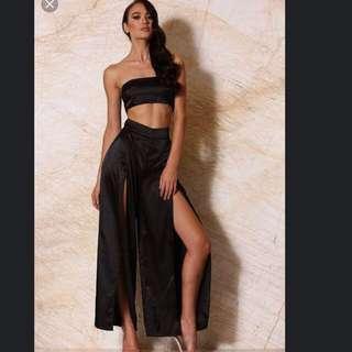 Meshki Split Silk Pants