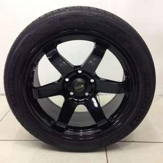 "17"" Sports Rim With Tyres 5X114.3 (SR1591)"