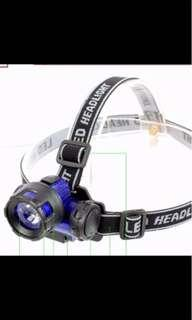 In stock 3W high power LED light head lamps explosion-proof lamp night fishing