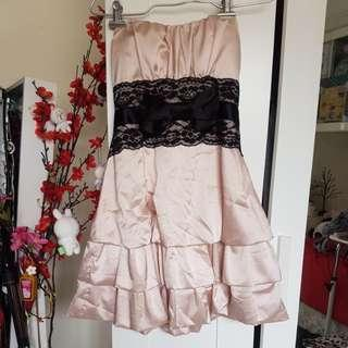 silk lace dress sz8