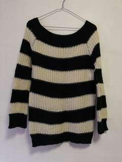 Striped Top Winter Autumn Wear