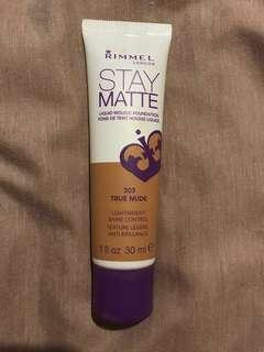 Rimmel Stay Matte Foundation