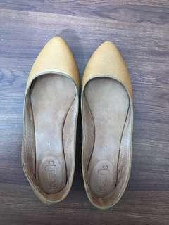 Suelas Leather Flats
