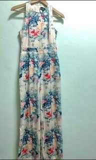 Doublewoot Floral Jumpsuit Size S #CNY888 #CNYGA