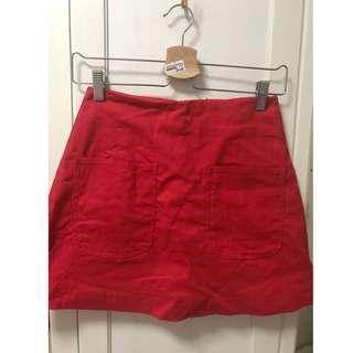AFA Polly Pocket Skorts in Red