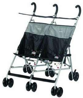 Twin Stroller R NewYorkBaby