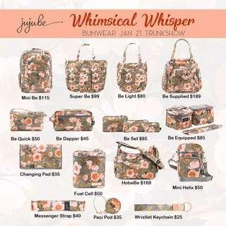 Jujube truckshow whimsical wispers sakura duck ever collection butterfly forest
