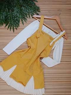 Mustard jumper dress (inner not included)