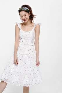 Lovebonito Raphaela Layered Dress in White (S)