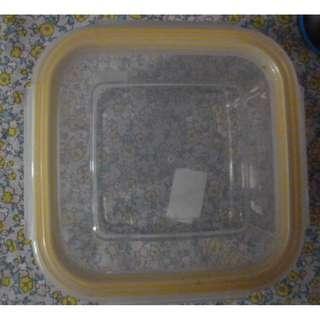 方型玻璃食物盒 =