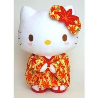 🚚 正版授權 日本 三麗鷗 HELLO KITTY 凱蒂貓 和服毛絨娃娃 絨毛娃娃 和服娃娃 娃娃 布偶 玩偶 玩具