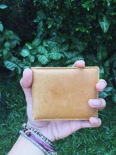Leather Wallet Tan