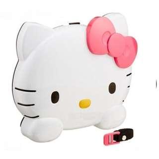🚚 正版授權 日本 三麗鷗 HELLO KITTY 凱蒂貓 臉型車用餐盤 車用餐盤 收納架 置物架 飲料架 餐盤