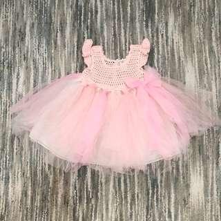 Baby Tutu Dress (Pink, 12M-18M)