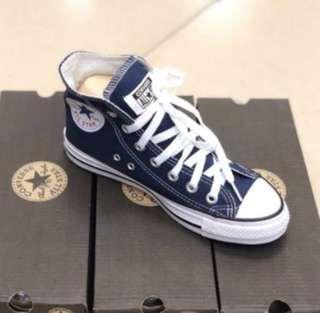 Converse High Cut Blue All Size New