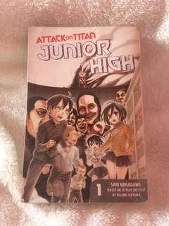 ATTACK ON TITAN JUNIOR HIGH #1 📔