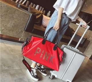 (PO) PINK Gym - Travel - Beach Sling / Shoulder Bag