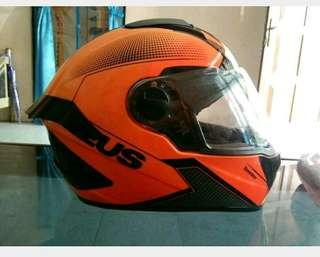 Helm Fullface Zeus ZS811 Orange size XL
