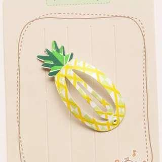🚚 Chinese New Year Pineapple Little Girls Hair Clip
