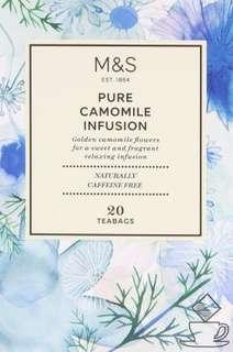 M&S Pure Camomile Infusion Teabag