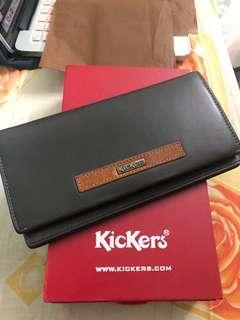 Kickers Premium Leather wallet #CNY888