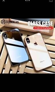 Iphone xs max and xr elegant glass case